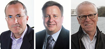 David Chavern, Travis Quast and Tom Rosenstiel