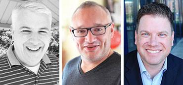 Tobias Bennett, Nick Ames and Raymond Faust