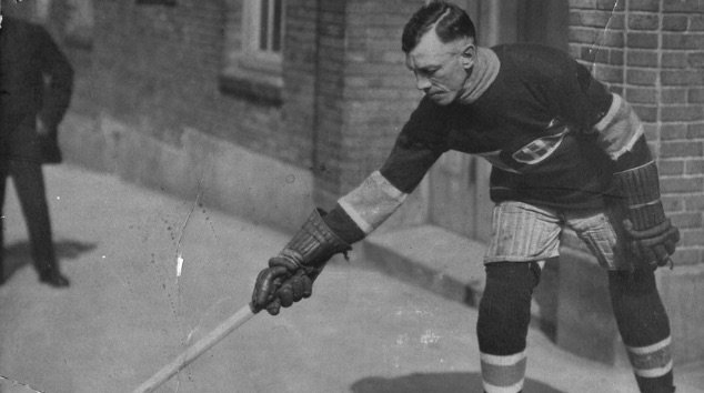 Joe Hall of the Montreal Canadiens died from the flu epidemic just days after playing in the 1919 Stanley Cup championship. The series against the Seattle Metropolitans was tied 2-2-1 and subsequently canceled when 5 players were sent to the hospital with flu symptoms.