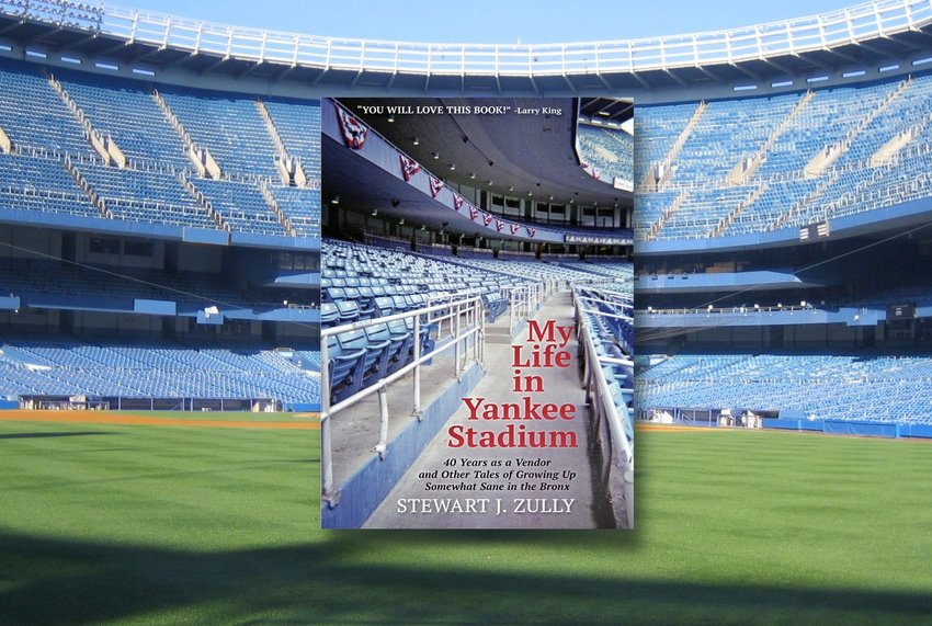 """Stewart J. Zully was a vendor at Yankee Stadium for 40 years. His book, """"My Life in Yankee Stadium"""" is packed with entertaining tales and anecdotes of his days in the Bronx."""
