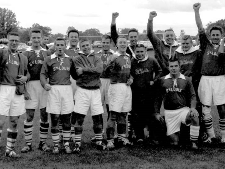 The 1959 St. Louis University Billikens, the NCAA's first soccer champions who went on to claim 10 titles, the most of any other school.