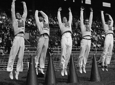 Cheerleading- From Boys To Beauties   Sports History Weekly