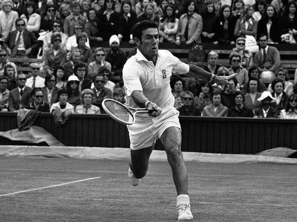 Australian Ken Rosewall, winner of 8 Grand Slam singles including the first one of the Open Era in 1968.