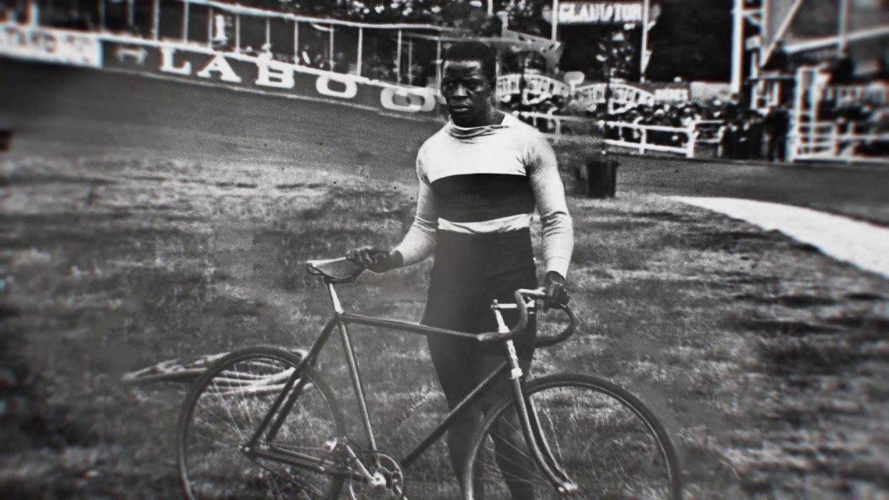 Major Taylor, the first African-American champion in any sport.  Winning gold in track cycling at the 1899 World Championships, he preceded Jack Johnson in boxing and Jesse Owens in track & field.
