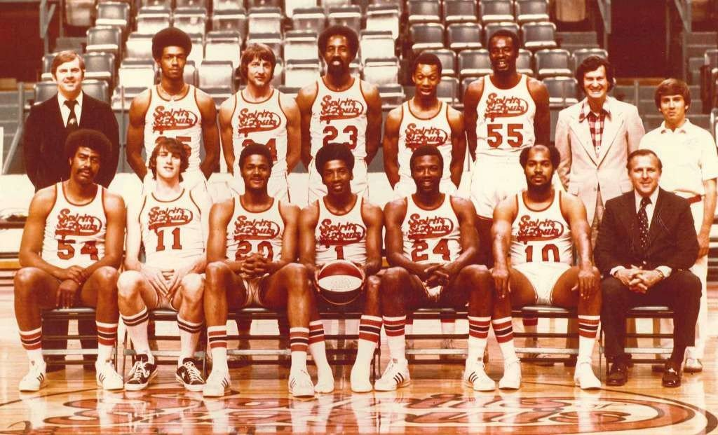 The Spirits of St. Louis, an ABA franchise that played only 2 seasons from 1974-76. Their owners, Ozzie and Daniel Silna, were forced to dissolve the franchise in exchange for a deal that would prove to be an unexpected financial bonanza.