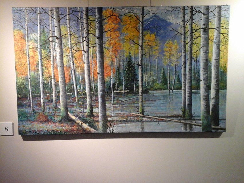 Featured works from the Stockton City Hall Art Gallery.