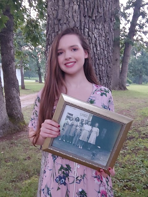 Ireland Moomaw, daughter of Jason and Minda Moomaw of rural El Dorado Springs, is the sixth generation of her family to attend the Herriman Chapel Camp.