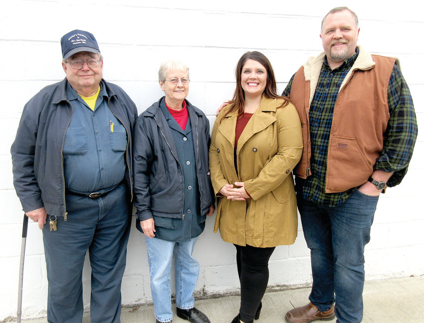 High & Dry Storage has changed hands as JR and Shirley Crum of Shirley's Furniture and JR's Hardware, Vienna, have sold the storage-unit business on Hwy. 42 West to Ryan and Daris Davis.