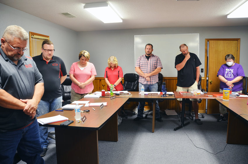Maries R-2 Board of Education met in person Thursday, June 25, with the public in attendance for the first time since March.