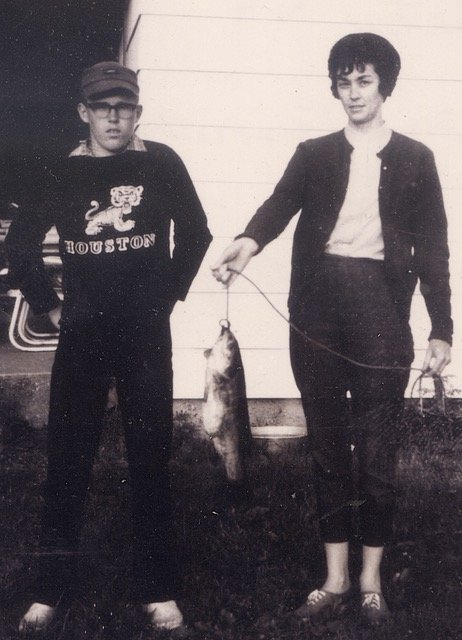 Larry Dablemont and Mrs. Richardson.