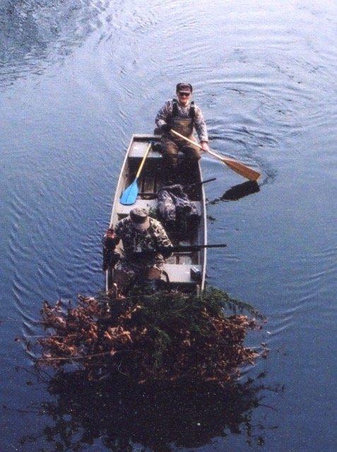 The 17-foot stolen boat.