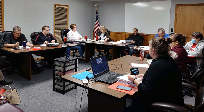 Maries County R-2 board members on Nov. 24 passed a mask mandate for the district with a 4-2-1 vote. Amy Kiso was the only board member present wearing a mask, as a medical condition places her in the high-risk category. The mandate will take effect at the beginning of the 3rd quarter.