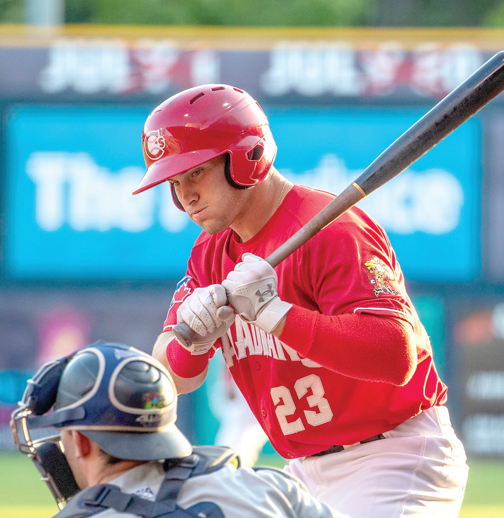 WILL ROBERTSON of Loose Creek, who was drafted last year by the Toronto Blue Jays, played a short season with the Vancouver Canadians, and reported for spring training, but was sent home. He's in a holding pattern until MLB makes a decision on the baseball season.