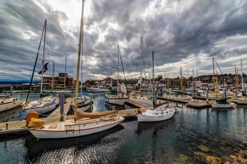 Port Townsend Marina. Photo by Andy Porter Images.