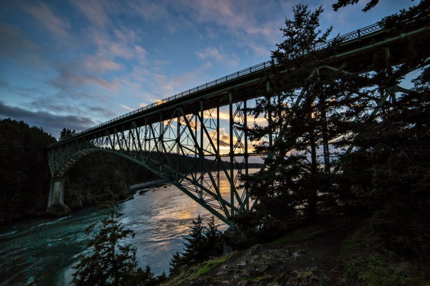 Deception Pass State Park. Photo by Andy Porter Images.