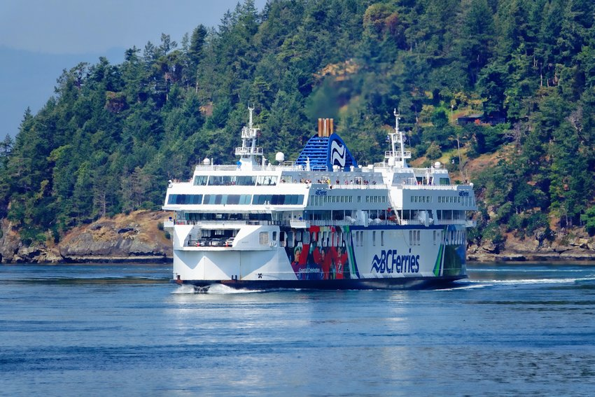 BC Ferry headed for Victoria. Photo by Rick Lawler.
