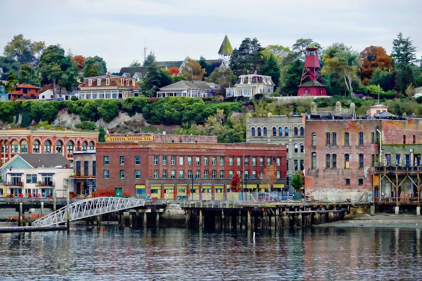 Port Townsend waterfront. Photo by Rick Lawler.