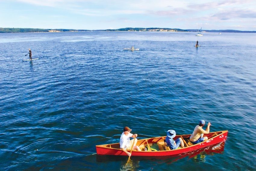 Canoe Fun in Port Townsend
